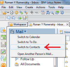 Mail Database Switcher